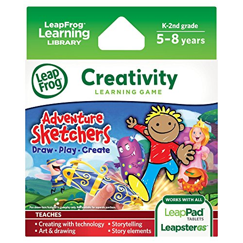 LeapFrog-Adventure-Sketchers-Draw-Play-Create-Learning-Game-for-LeapPad-Tablets-and-LeapsterGS