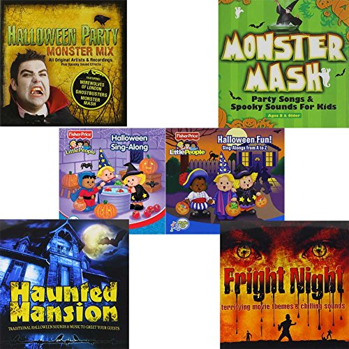[Halloween Gift Of Music Hits and Sound Effects Set For Your Halloween Party.] (Greatest Halloween Costumes Ever)