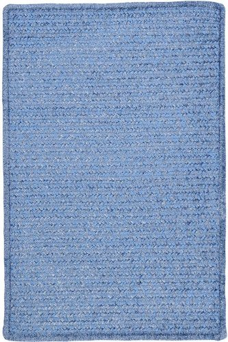 Allusion Area Area Rug, 4' SQUARE, PETAL BLUE