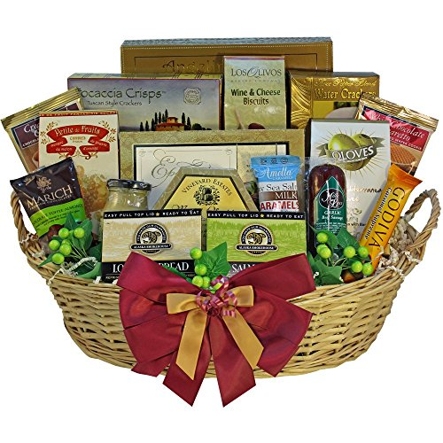 Art of Appreciation Gift Baskets Grand Edition Gourmet Food and Snacks Gift Basket, Large (Meat Shipping Box compare prices)