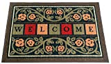 Ottohome Collection Rectangular Welcome Doormat Multi 20