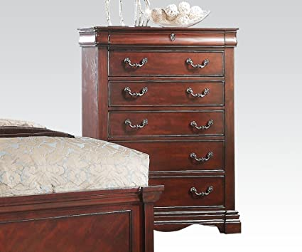 Estrella Chest of Drawers in Dark Cherry by Acme Furniture