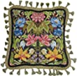 Candamar Designs 30947 Morris Style Needle Point Kit, 14 by 14-Inch