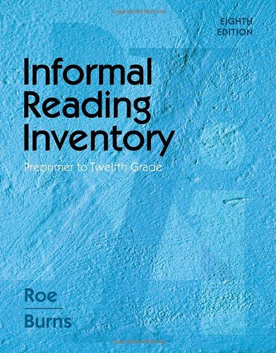 Informal Reading Inventory: Preprimer to Twelfth Grade...