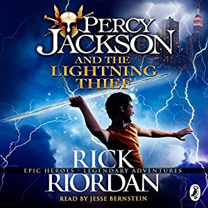 The Lightning Thief Percy Jackson Book 1 Audible Audio Edition