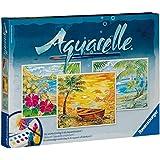Ravensburger 29464 - Strand-Paradies - Aquarelle Maxi, 30 x 24 cm