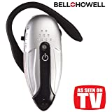 Bell & Howell Silver Sonic XL Personal Sound Amplifier (Color: Silver, Tamaño: Silver Sonic)