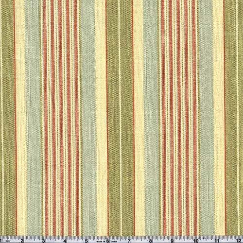 .com: 54'' Wide Waverly Long Hill Circa Seamist Fabric By The Yard