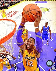 Dwight Howard Los Angeles Lakers 2012-2013 NBA Action Photo #2 8x10