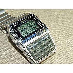 Casio Telememo 150 Luminous Keypad Metal Band Databank Watch #DBC1500B-1