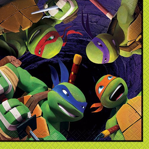 Teenage Mutant Ninja Turtles Beverage Napkins, 16ct - 1