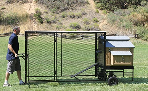 4' X 5' Large Mobile Snap N' Lock Coop & 4' X 8' Run (Snap Lock Chicken Coop compare prices)