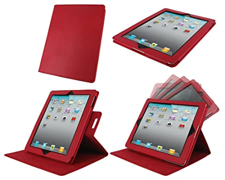 Amazon - RooCase Dual View Folio Case for Apple iPad - $6