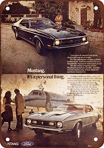 1971-ford-mustang-look-vintage-riproduzione-in-metallo-tin-sign-305-x-457-cm