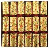 Caspari 12.5-inch Renaissance Celebration Crackers, Box of 6