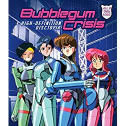 Bubblegum Crisis: High-definition Disctopia [Blu-ray]
