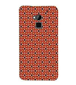 Floral pattern 3D Hard Polycarbonate Designer Back Case Cover for HTC One Max :: HTC One Max Dual SIM