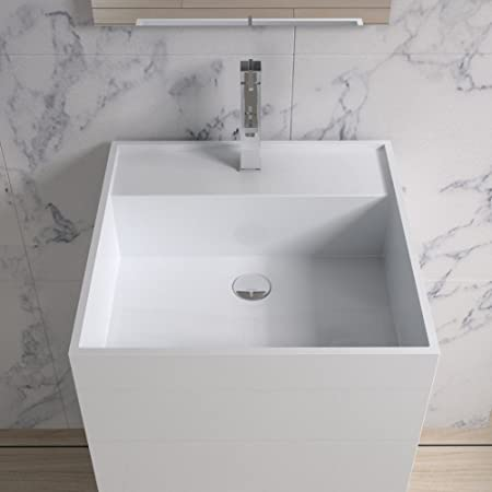 ADM Bathroom Design Matte Stone Resin Sink DW-122