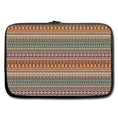 Anhome Retro Aztec Tribal Geometric Print Sleeve For Macbook Pro / Sleeve For Laptop / Notebook Computer / Macbook / Macbook Pro / Macbook Air 13'' front-1046999