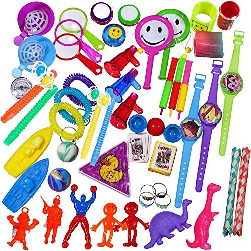 100 Assorted Toys from BDC Toys