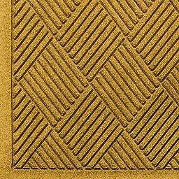 Andersen 221 Waterhog Fashion Diamond Polypropylene Fiber Entrance Indoor/Outdoor Floor Mat, SBR Rubber Backing, 6\' Length x 3\' Width, 3/8\