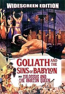Goliath & The Sins of Babylon [DVD] [1963] [Region 1] [US Import] [NTSC]