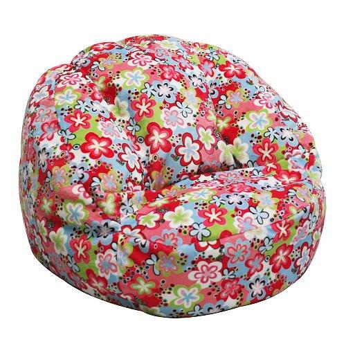 Harmony Kids Tween Cuddle Lounger - Pink Floral