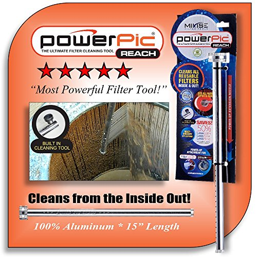 Power Pic Reach - The Most Powerful Filter Cleaning Tool (Pool Filter Cartridge Cleaner compare prices)