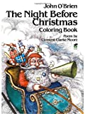 Clement C. Moore The Night Before Christmas (Dover Holiday Coloring Book)