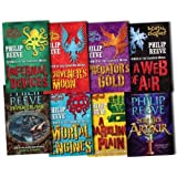 Mortal Engines Collection Philip Reeve 8 Books Set Pack RRP: �55.92 (Fever Crumb, Here Lies Arthur, Mortal Engines, Predators Gold, Infernal Devices, A Darkling Plain, A Web of Air, Scriveners Moon)by Philip Reeve