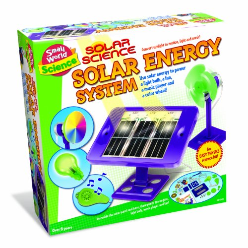 Small World Toys Science - Solar Science Energy System front-944002