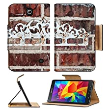 buy Msd Premium Samsung Galaxy Tab 4 7.0 Inch Flip Pu Leather Wallet Case Outdoor Vintage Hooks On Brick Wall Image 24385721