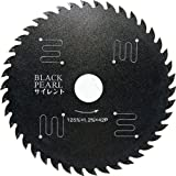 YAMASHIN ブラックパールサイレント 125mmx42P MAT-BLPS-125