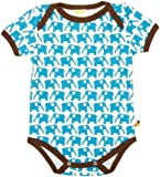 loud + proud 201 - Body para beb�, color turquesa (aqua), talla 86/92