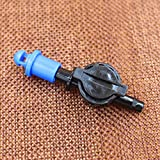 Generic Refractive Micro Sprinkler With 1/4inch Antidrain Connector Fruit Misting Sprinkler Microjet Misting Irrigation...