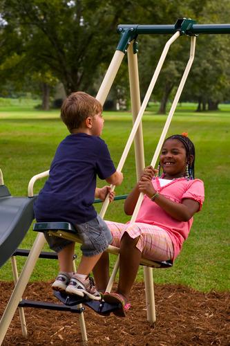 flexible flyer backyard fun swing set with plays consumer safari