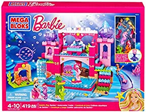 Mega Bloks Barbie's Underwater Castle