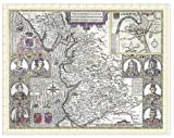 Jigsaw of Map of Lancashire 1611