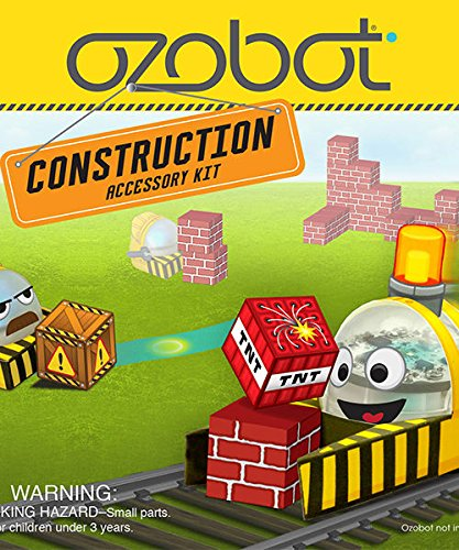 Ozobot 2.0 Bit Accessory Kit, Construction Series