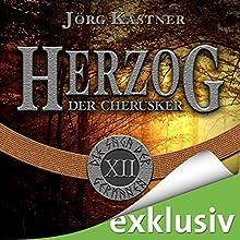 Herzog der Cherusker (Die Saga der Germanen 12) Hörbuch von Jörg Kastner Gesprochen von: Josef Vossenkuhl