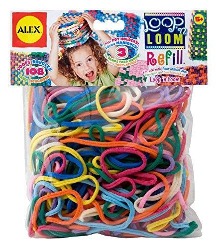 ALEX Toys Crafts Loop N Loom Refill Loops - 1