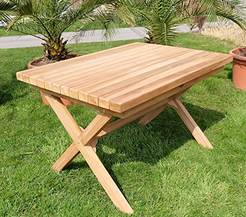 Wuchtiger-TEAK-Designer-Tisch-Holztisch-Gartentisch-Garten-Tisch-120x90cm-Holz-gelt-Modell-RIO-von-AS-S