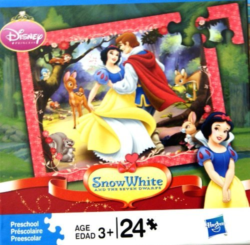 Snowwhite And The Seven Dwarfs 24 Piece Puzzle Snowwhite With Prince