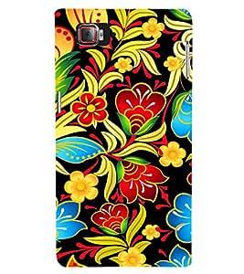 Floral Painting Art 3D Hard Polycarbonate Designer Back Case Cover for Lenovo Vibe Z2 Pro K920