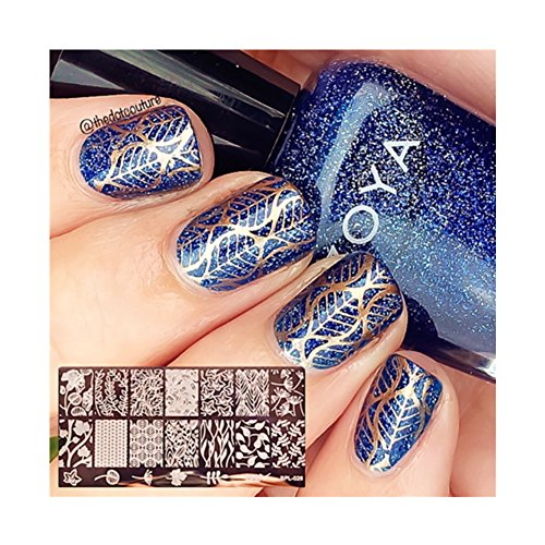 born-pretty-nail-art-stamp-template-leaves-image-plate-flower-vine-bp-l026