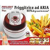 Friggitrice ad Aria Digitale Automatica Turbo Forno Multifunzione Ventilato cottura senza olio e grassi Max 1400...