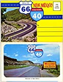 img - for New Mexico Route 66 - Interstae 40 (1960's Souvenir Postcard Folder) book / textbook / text book