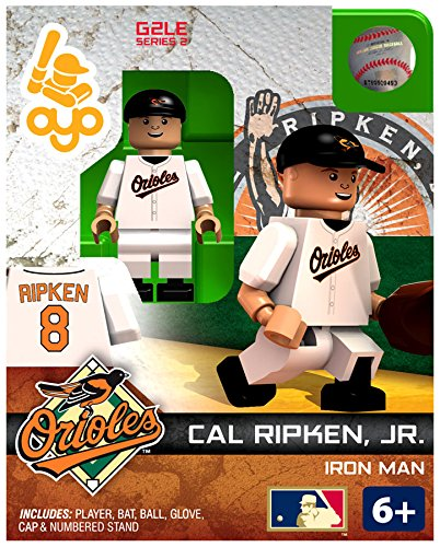 MLB Baltimore Orioles MLB Generation 2 Series 2 Cal Ripken, Jr. Minifigure - 1