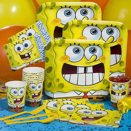Sponge Bob Classic Basic Party Pack