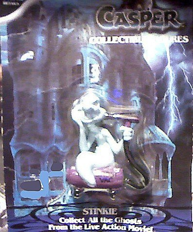 Stinkie, the Ghost Collectible Figure - 1995 Casper the Movie Series - 1